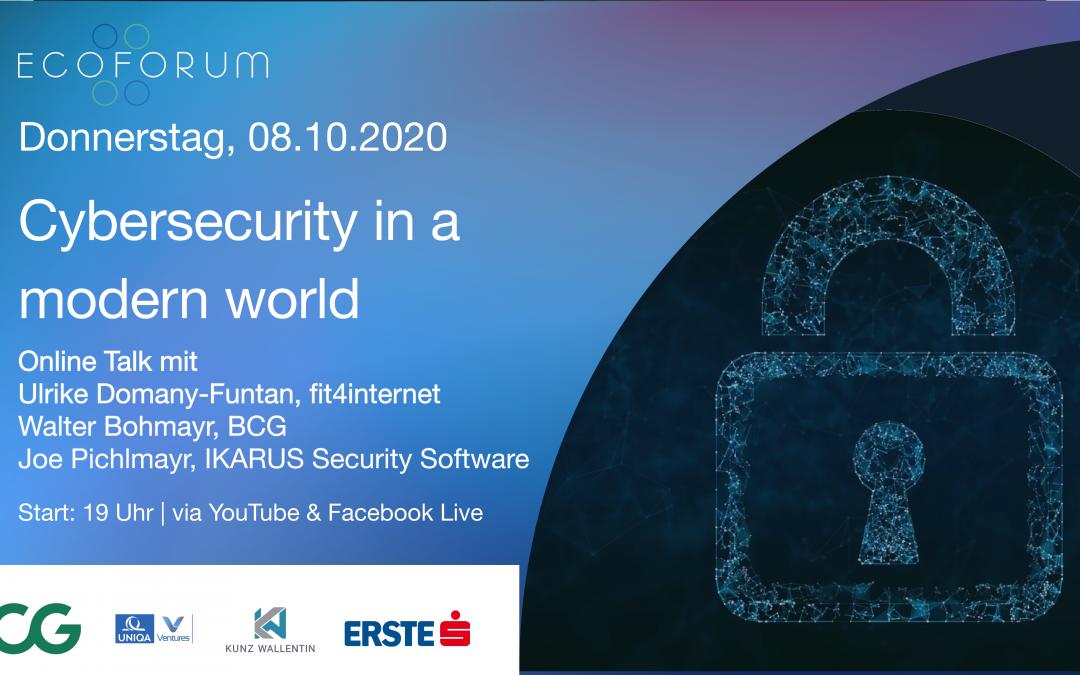 Cybersecurity in a modern world